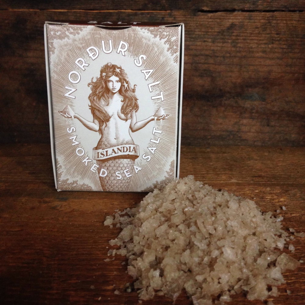 Nordur Smoked Sea Salt from Iceland