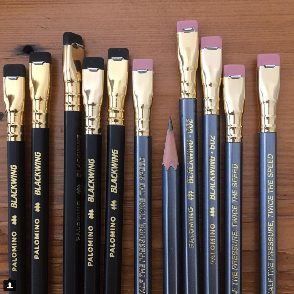 Blackwing pencils at Pilothouse Paper
