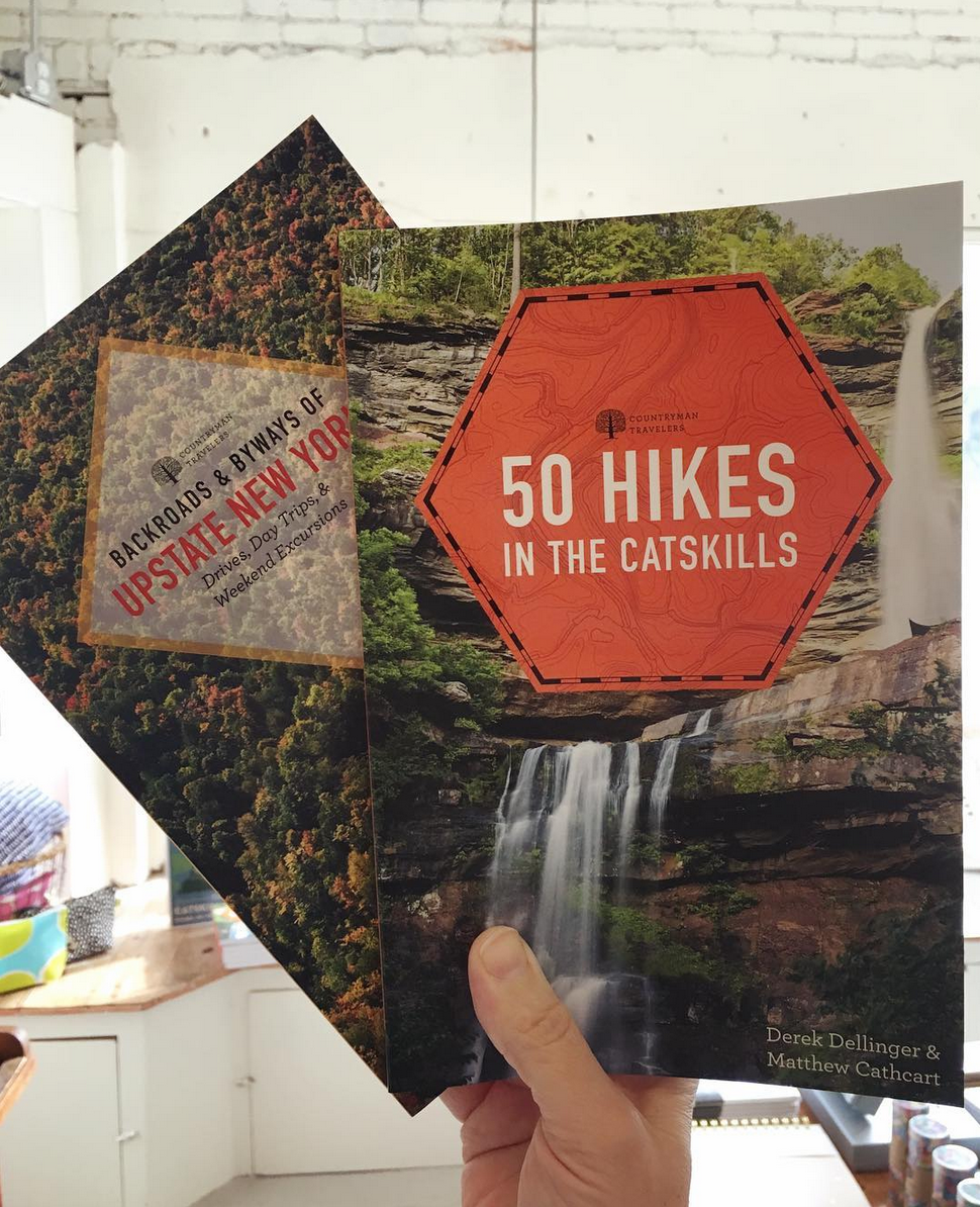 50 hikes in the Catskills book