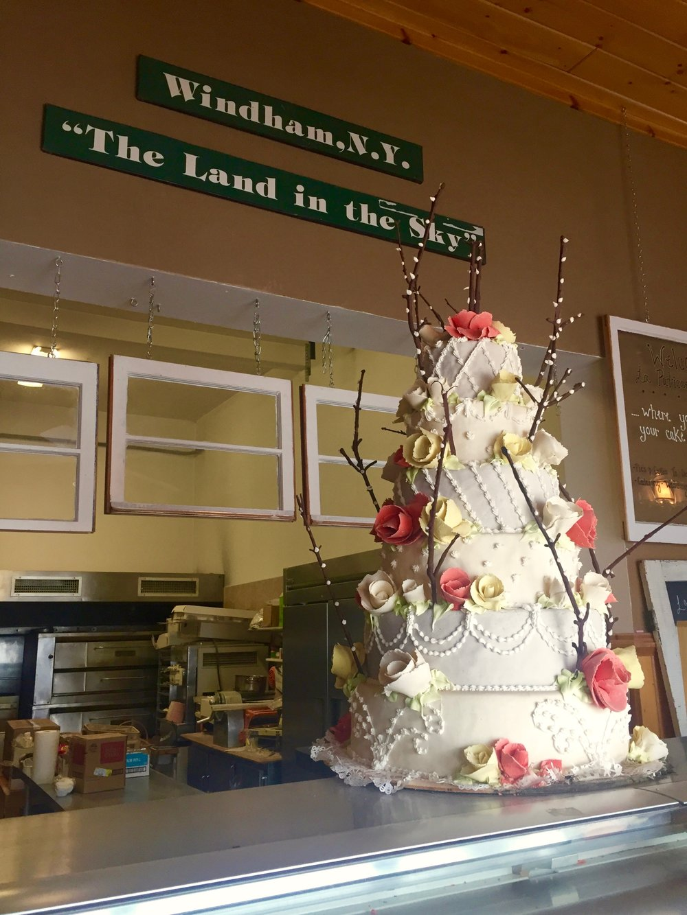 Wedding cake at La Patisserie Normande