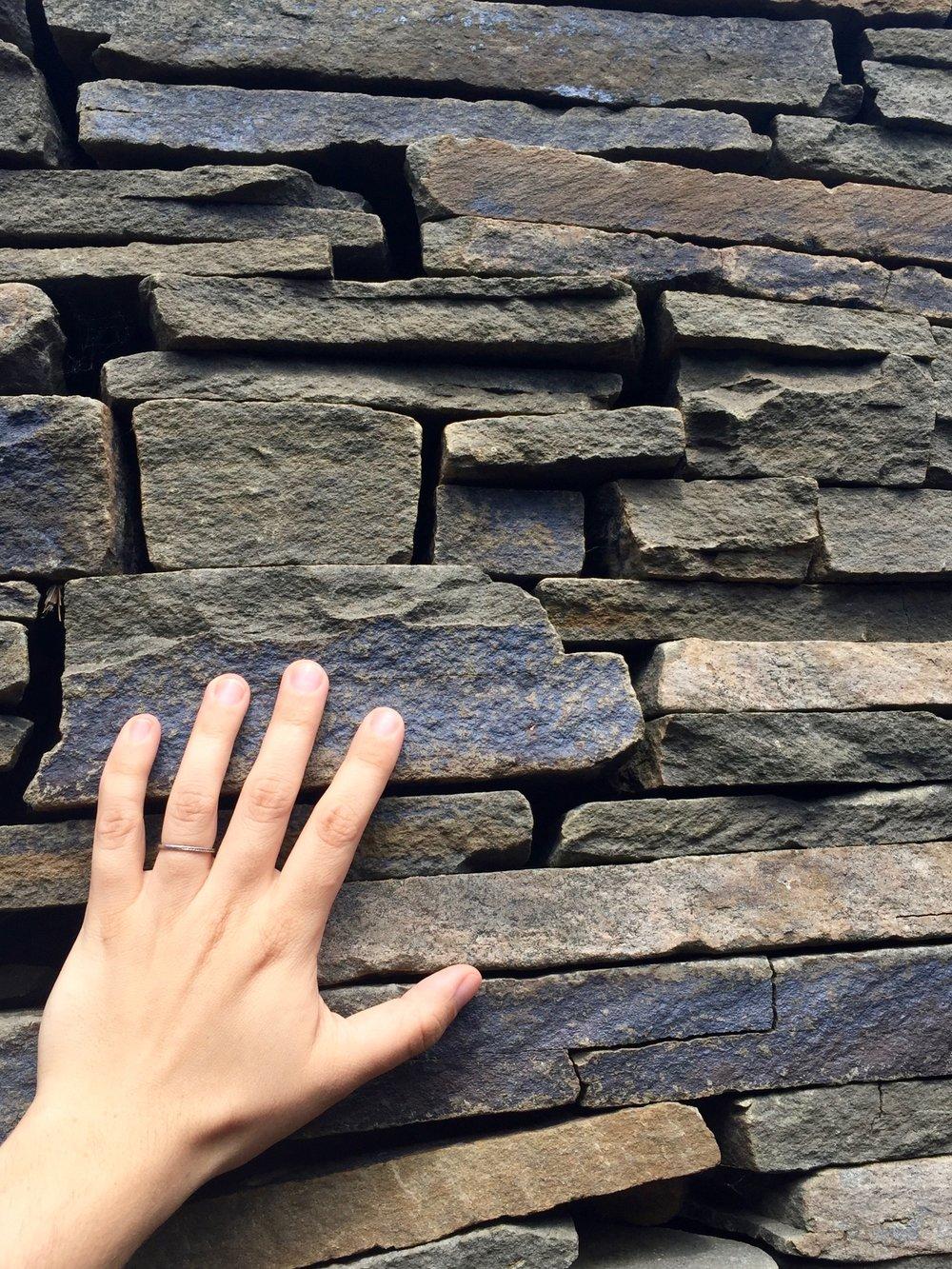 opus 40 slate wall