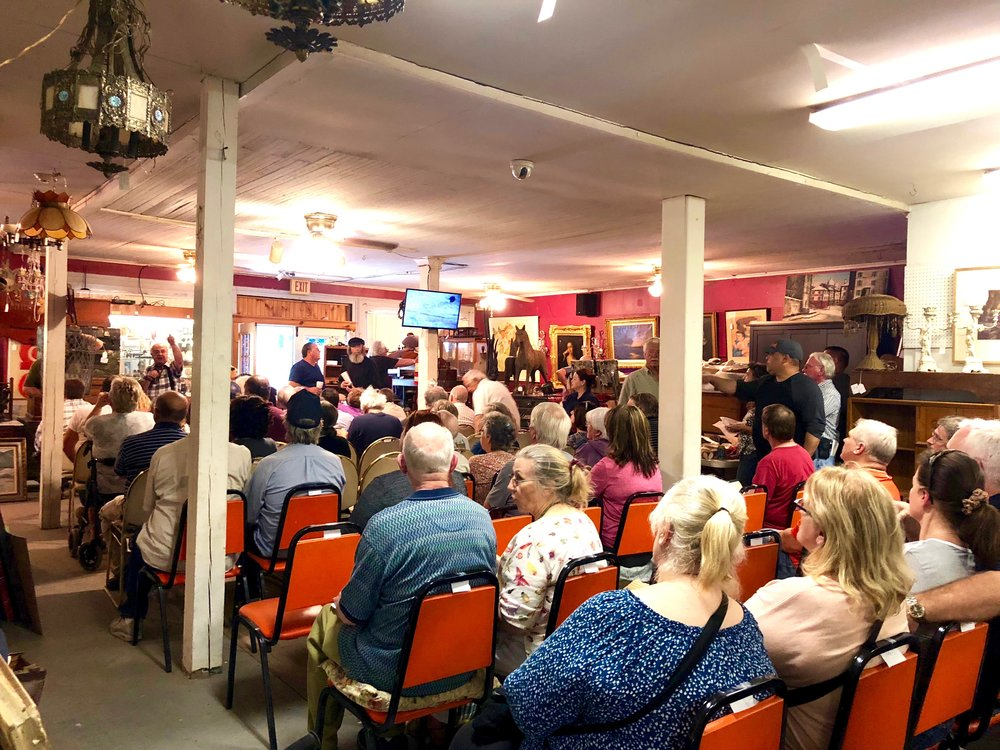 mooney's auction house east durham