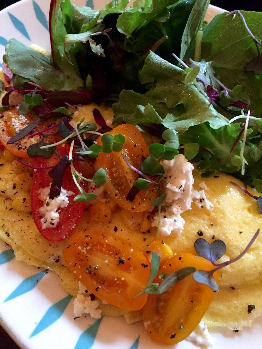 The Pines Mount Tremper brunch omelet