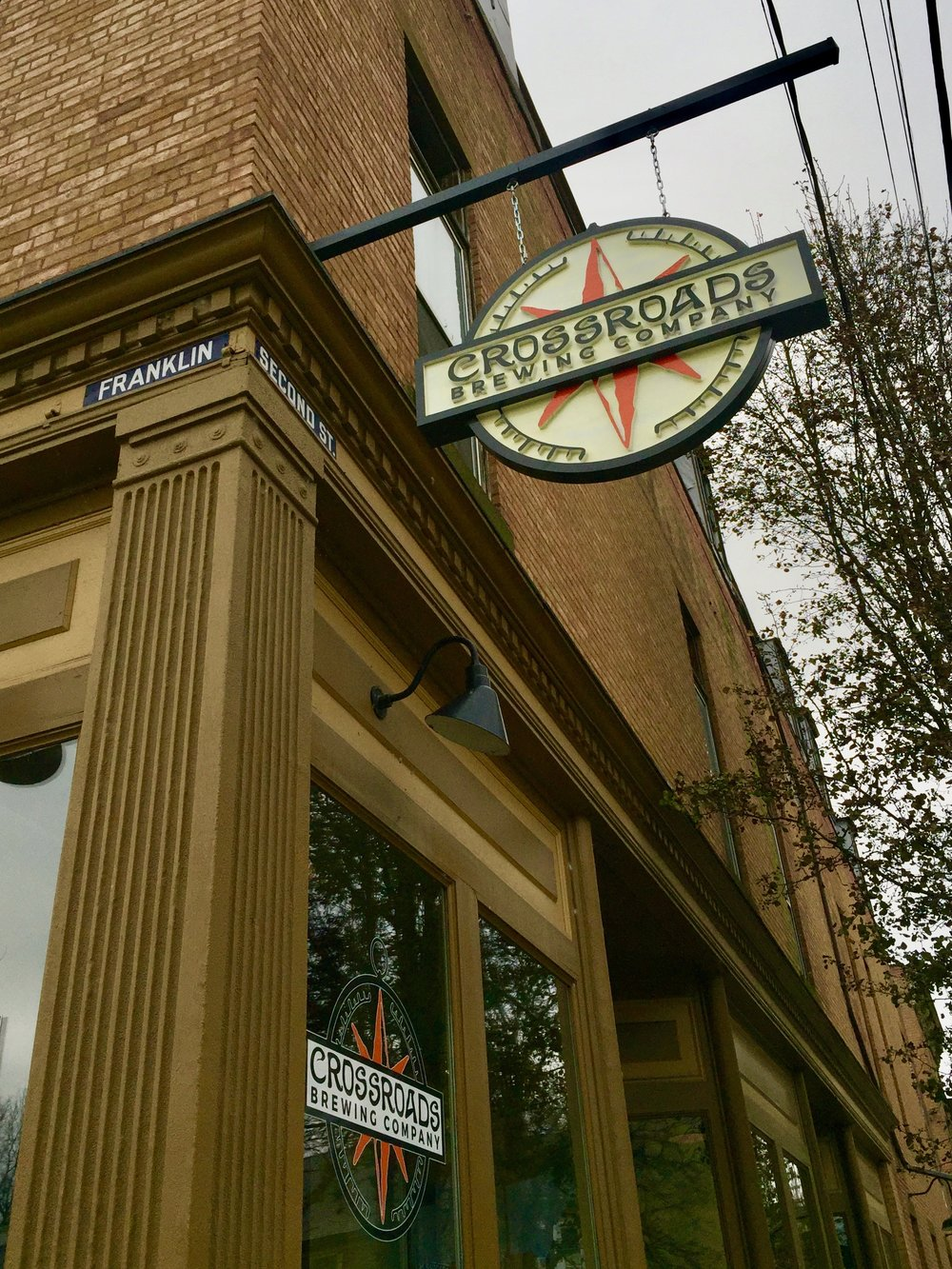 Crossroads Brewing Company in Athens, NY
