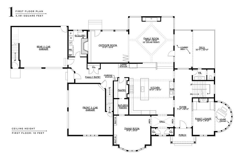 Floor Plans 424 Sydbury