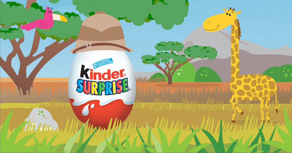 Copy: A world of wonder awaits with KINDER® SURPRISE®!