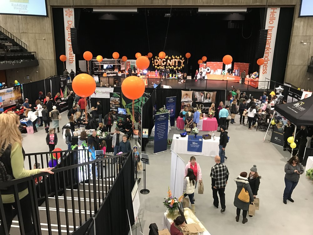 Redding Health Expo at Redding Civic Auditorium, January 2017