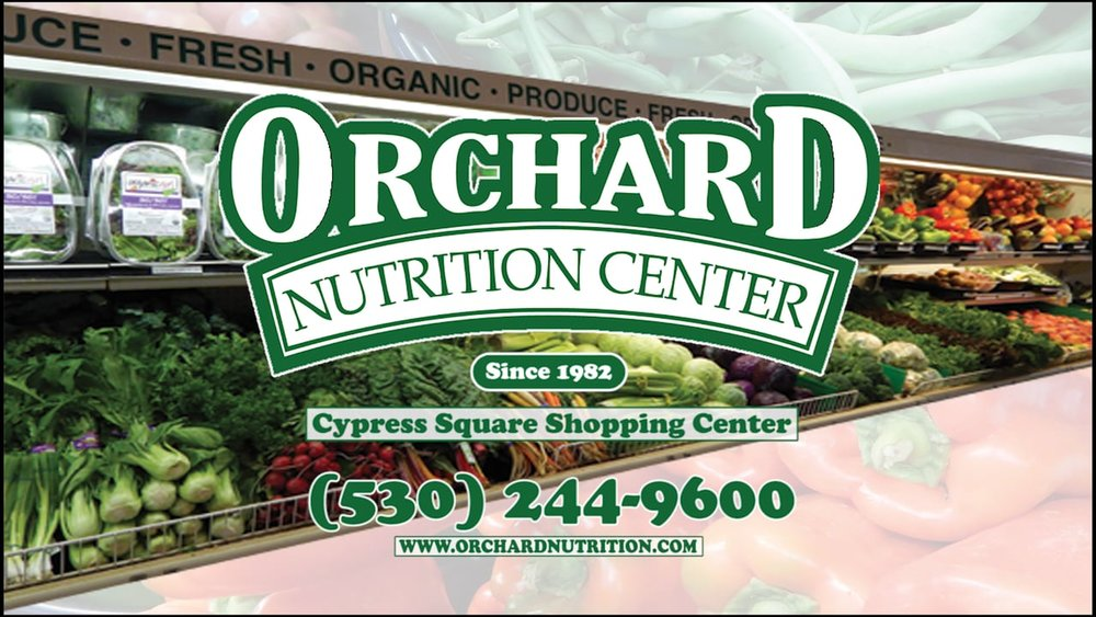 Orchard Nutrition Center Redding CA, Sponsor of 2018 Redding Health Expo