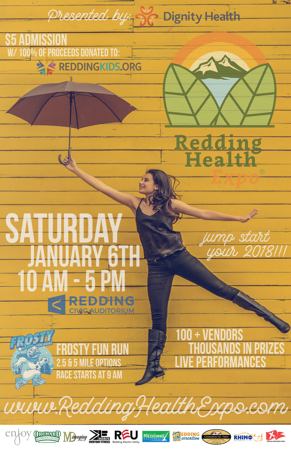 Redding Health Expo, Redding CA Health and Wellness Show