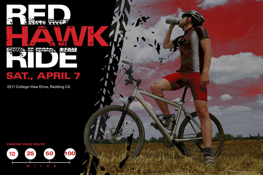 Simpson University Red Hawk Ride | Redding Health Expo, Redding CA Health and Wellness Show