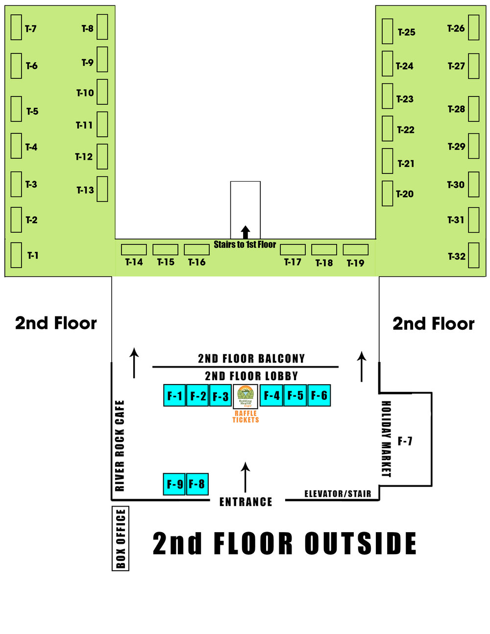 Redding Civic Auditorium 2nd Floor | Redding Health Expo