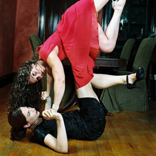 Ingrid Schatz is a Boston-based dancer and choreographer.