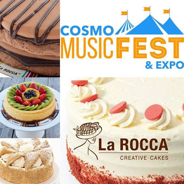 Join us at the annual Cosmo Fest & Expo Saturday June 3rd, 2017. You do not want to miss out on our ONE DAY only cake specials as well as coupons for you future cake orders! Find us outside at our LaRocca booth from@9am-5pm! #CraveLarocca #CosmoFest #EatCake #LaroccaCakes