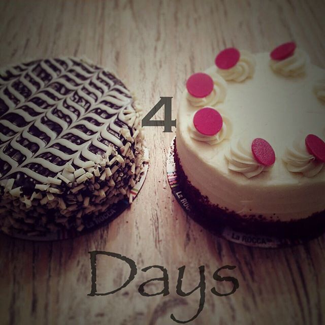 The Countdown is On! The Annual Cosmo Music Fest takes place Saturday. Find LaRocca Cakes outside for your ONE DAY ONLY $10 cake! Because a well balanced diet consists of having a cake in each hand. #CraveLarocca #LaroccaCakes #EatCake #CosmoFest