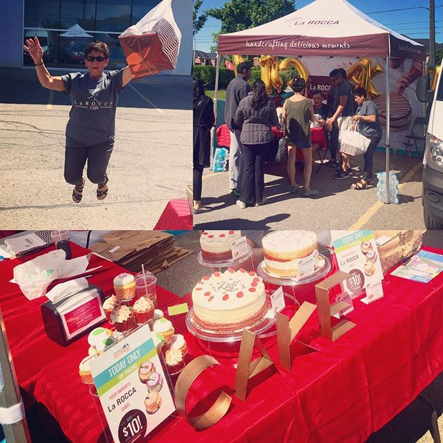 Thank you for coming out! Enjoy your cakes & don't forget to order your next one online 20% off !! #CraveLarocca #LaroccaCakes #CosmoFest #EatCake #SeeYouNextYear