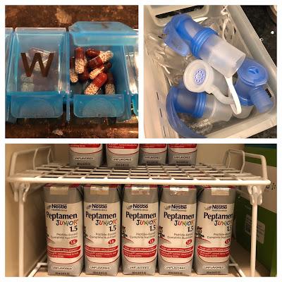 Some of Bennett's medications