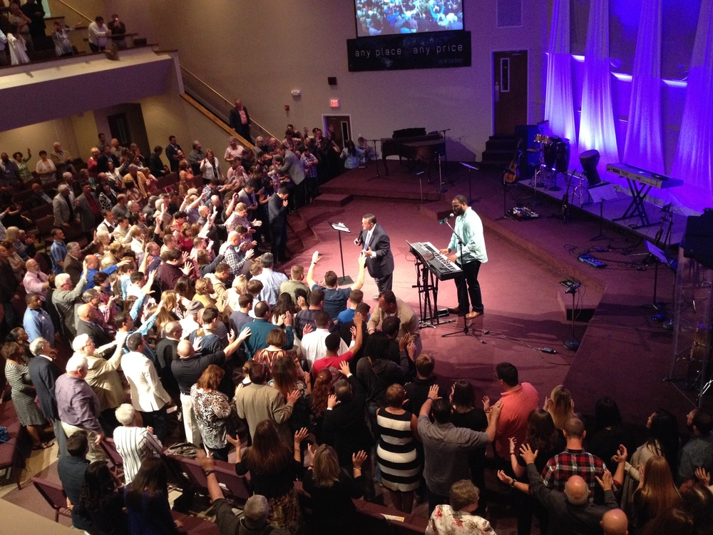 Praying over the next generation of church leaders.