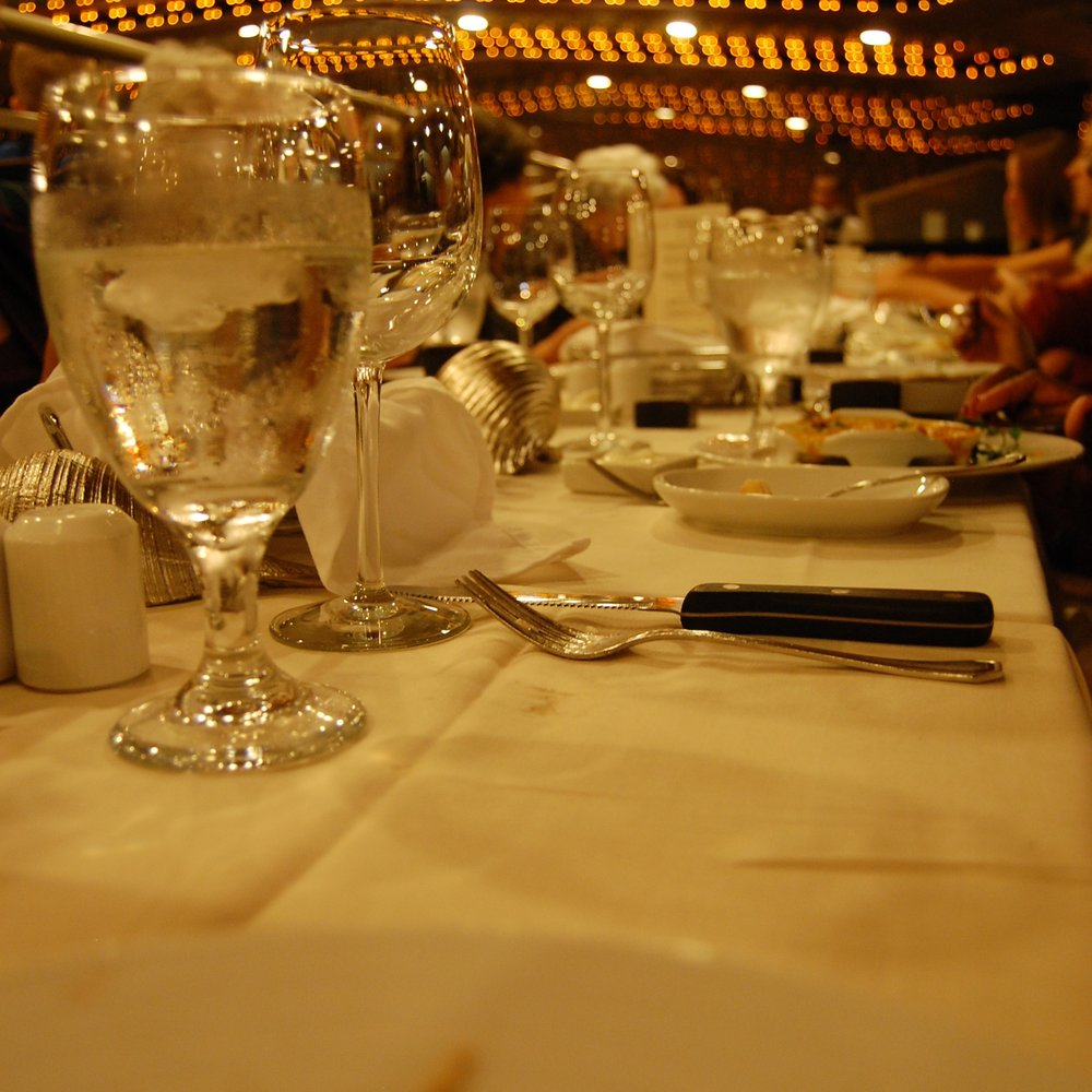 A Glass of Water and a Missing Plate - By Brian Craft