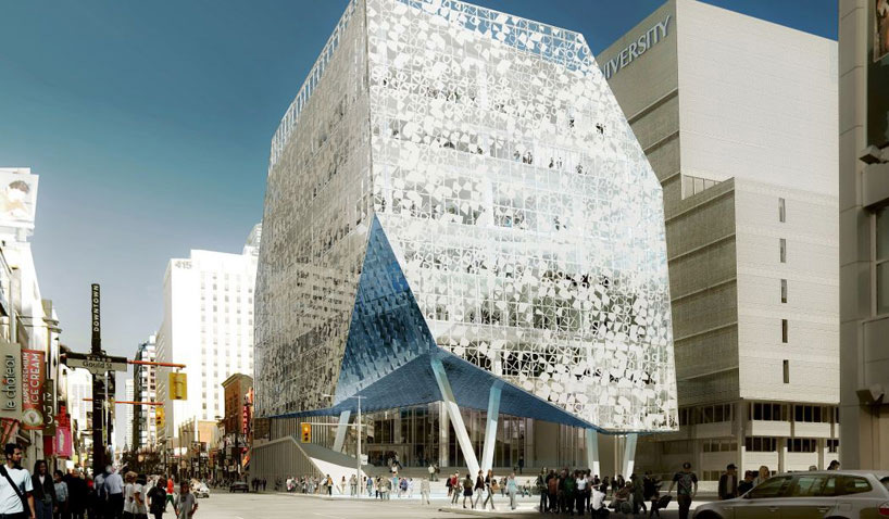 The Ryerson Student Centre. Toronto, Canada (image: www.designboom.com)
