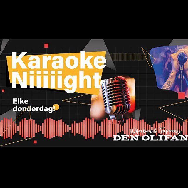 Word weer een feestje#karaokebar
