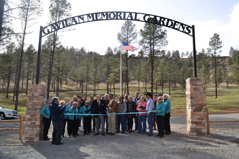 Gavilan Memorial Gardens Cemetery, Ribbon Cutting Ceremony