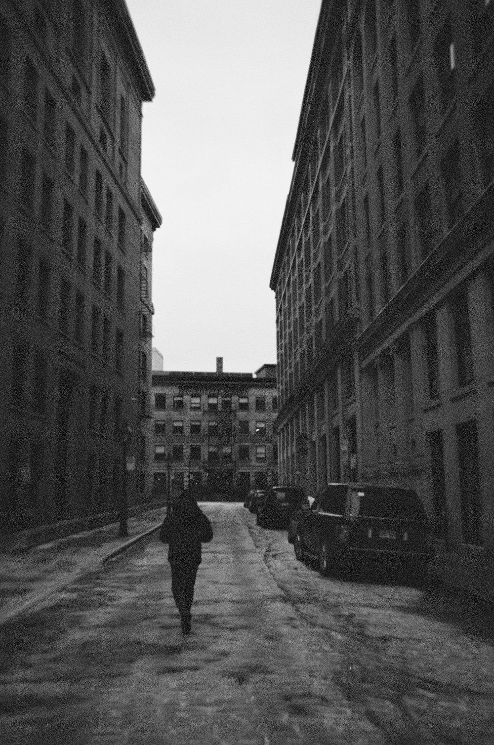 Vieux Montréal - Ilford XP2