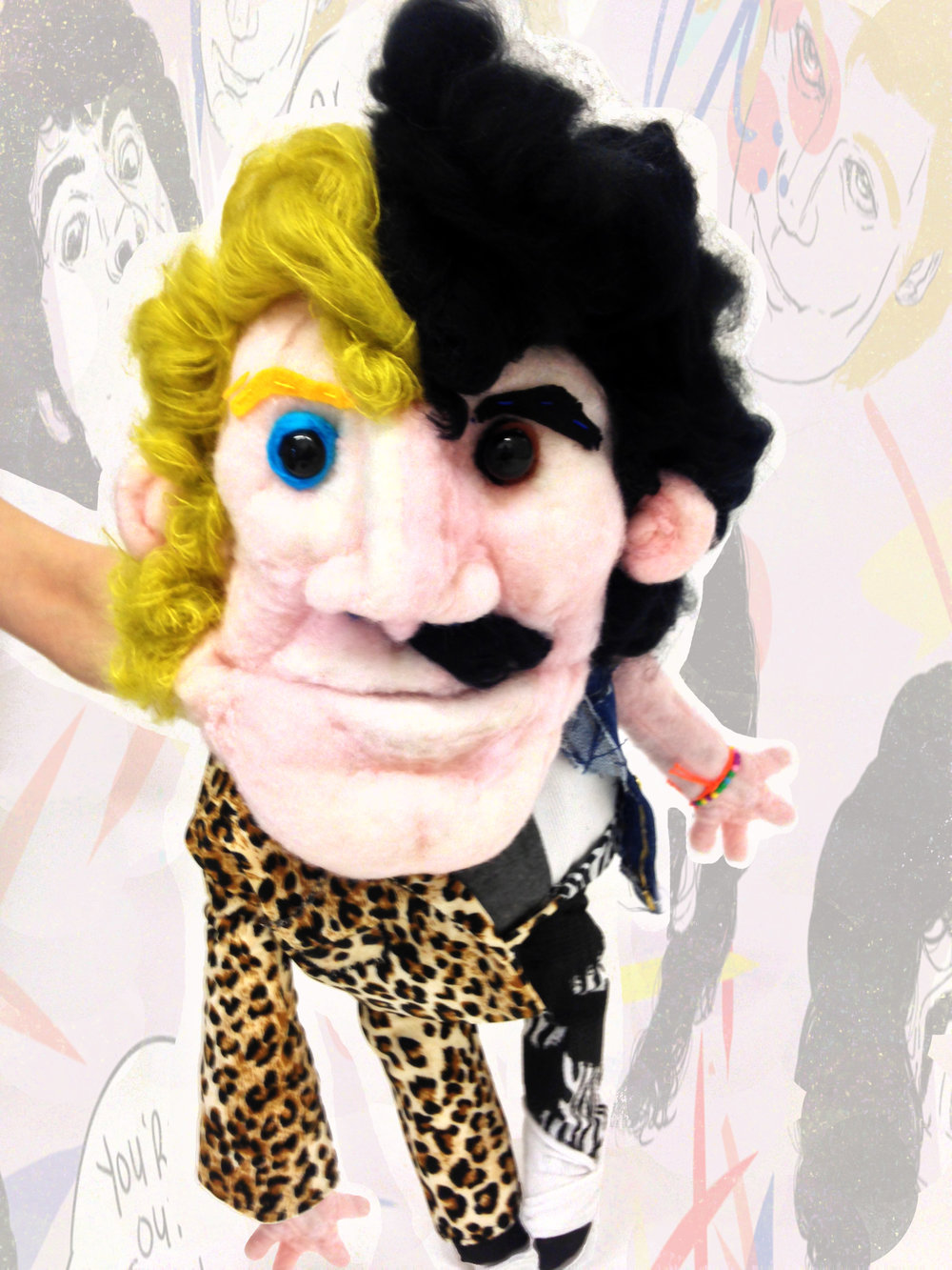 Hall and Oates (puppet)