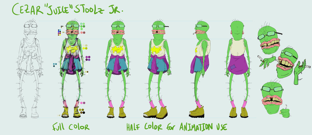 "Cezar ""Juice"" Stoolz Jr.: Character Sheet"