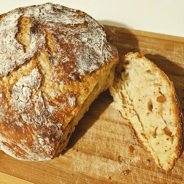 Recently I started to like making #bread 🍞 I hope my rice-eating family don't mind having few more bread day