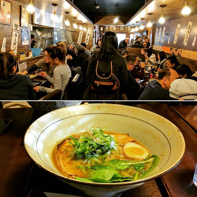 A warm little Japanese shop with delicious ramen 🍜 no need to fly to Japan for that special atmosphere