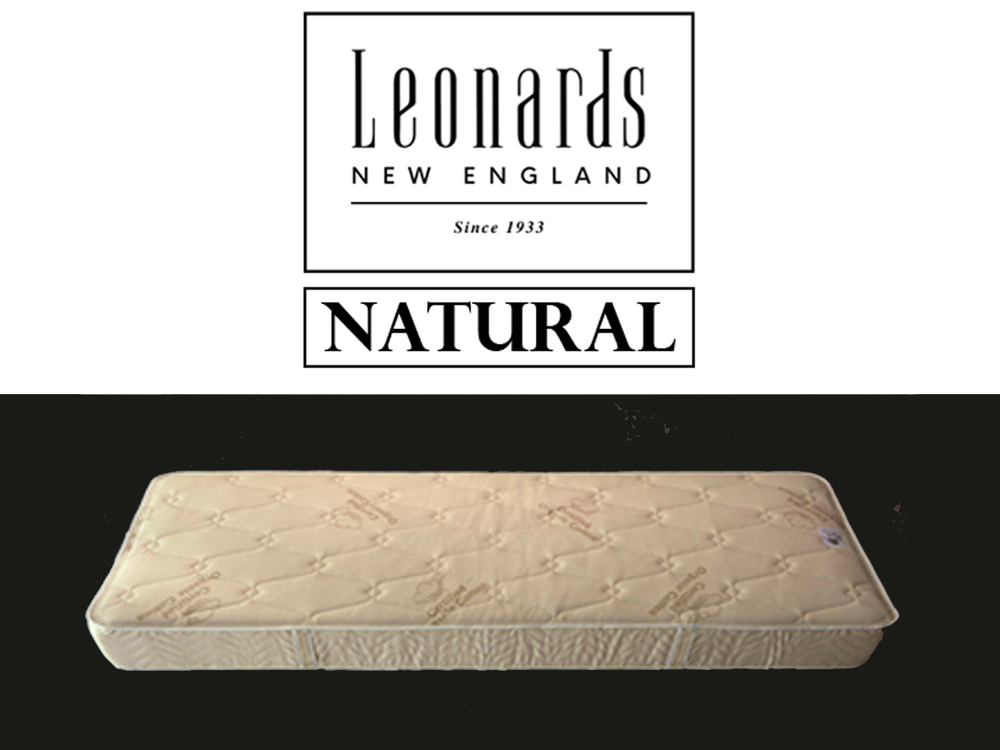 """NATURAL 9"""" Layered Latex Mattress 5.75"""" Box Foundation 100% Natural Talalay Latex Two Sided Organic cotton cover with wool backing Anti-microbial & Anti-mildew benefits"""