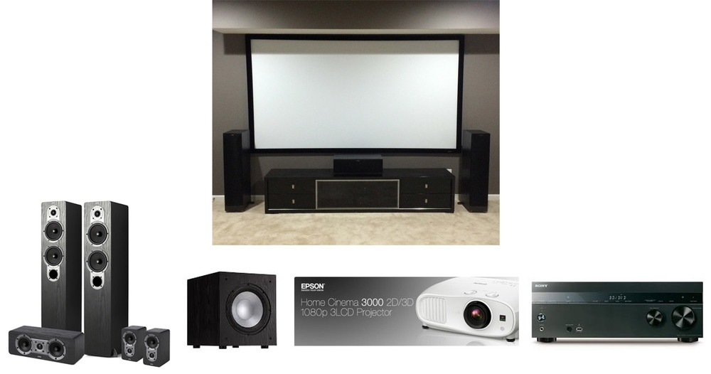 Funky Home Theater Connections Elaboration - Electrical and Wiring ...