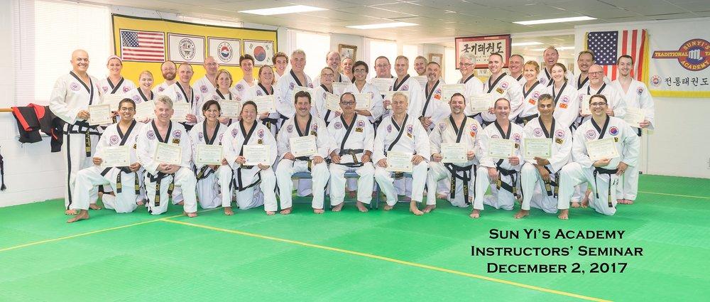 Sun Yi's Academy 2017 Instructor Seminar