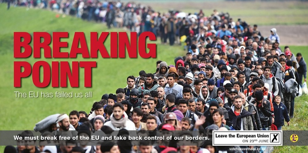 UKIP is a far-right political party that used immigration to campaign for the Leave vote