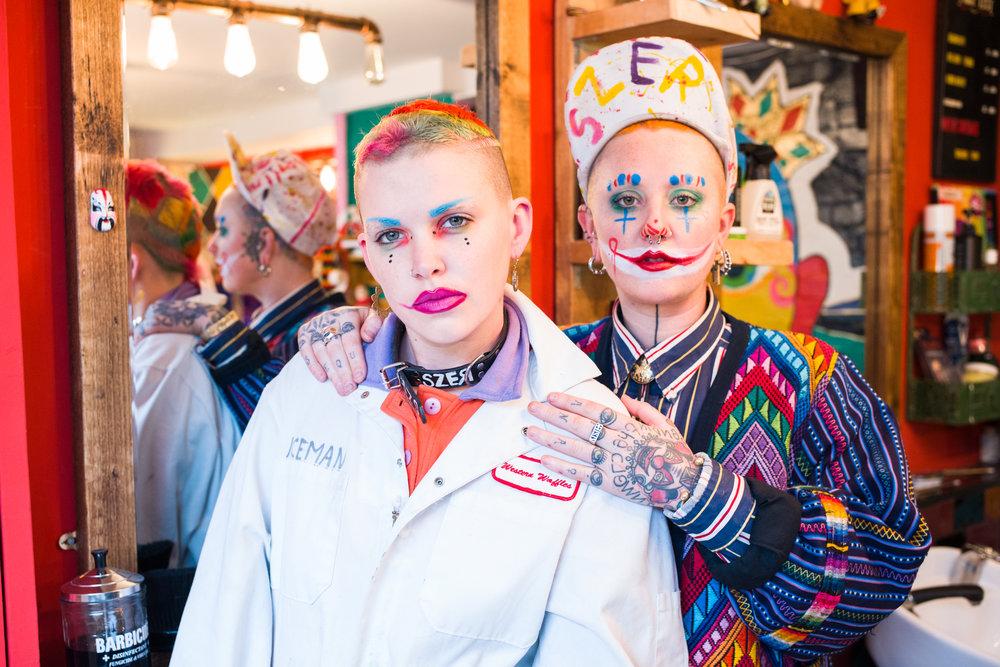 Toni Tits (left) and Tutti Fruittii //Photo by Robin Sinha