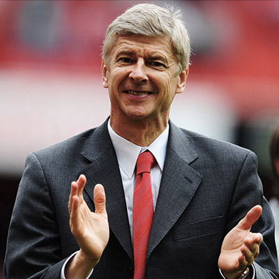 Arsene Wenger (manager; Arsenal Football Club)