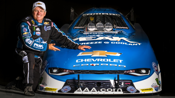 16x Champ John Force & the new 2016 camaro ss funny car