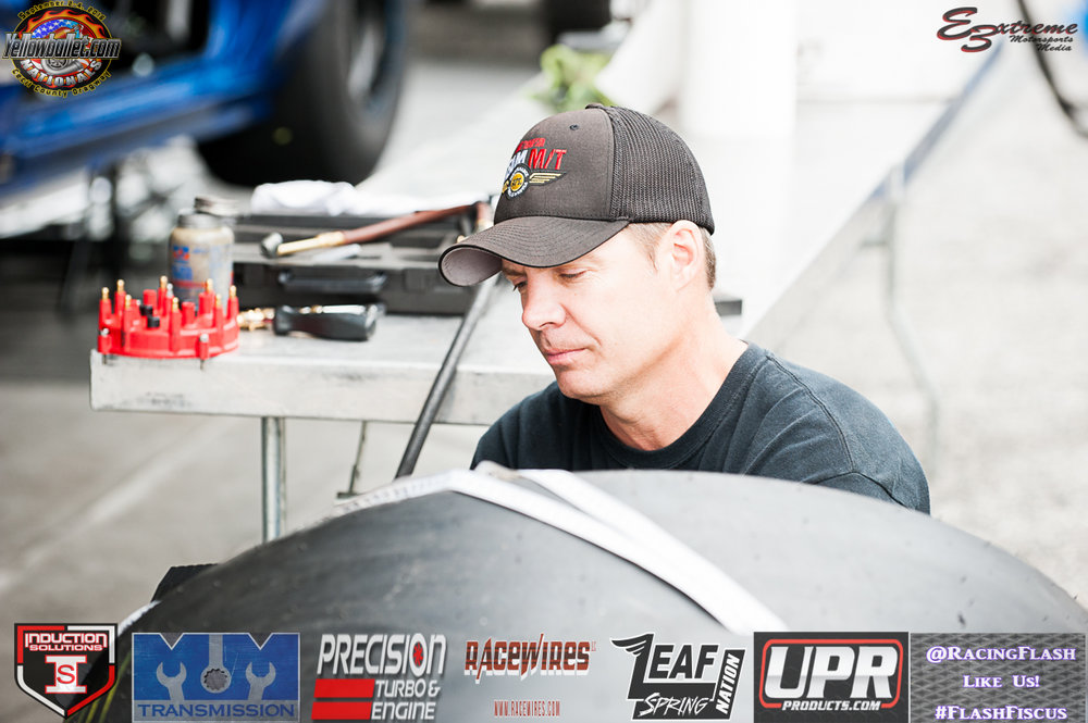 NHRA Pro Mod superstar kevin fiscus @Racingflash #flashfiscus