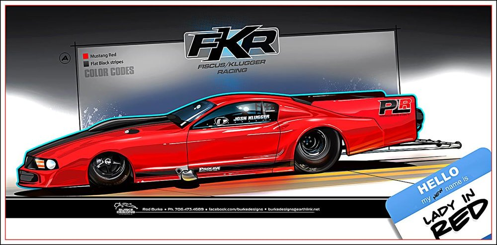 Tentative rendering of the new look Klugger Pro Mod.