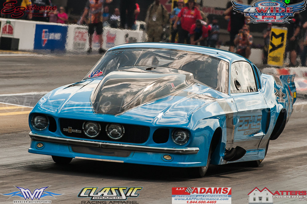 Michael Biehle Proline Powered Pro Mod Mustang
