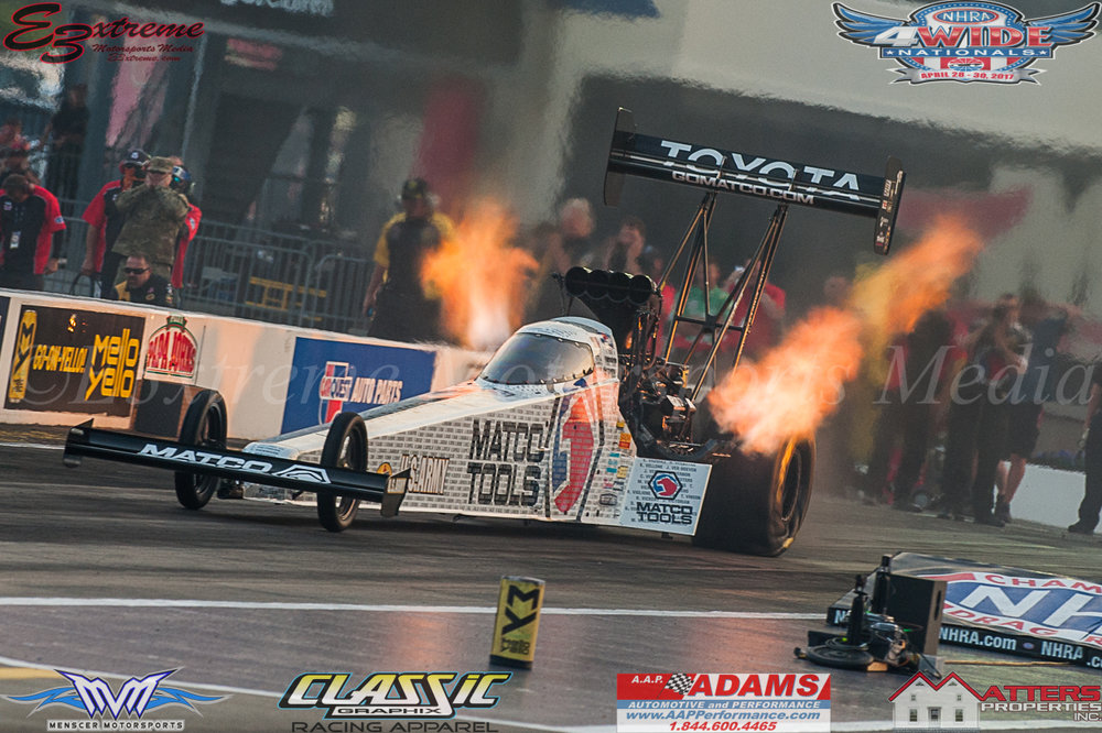 Antron Brown Matco Tools Top Fuel Dragster