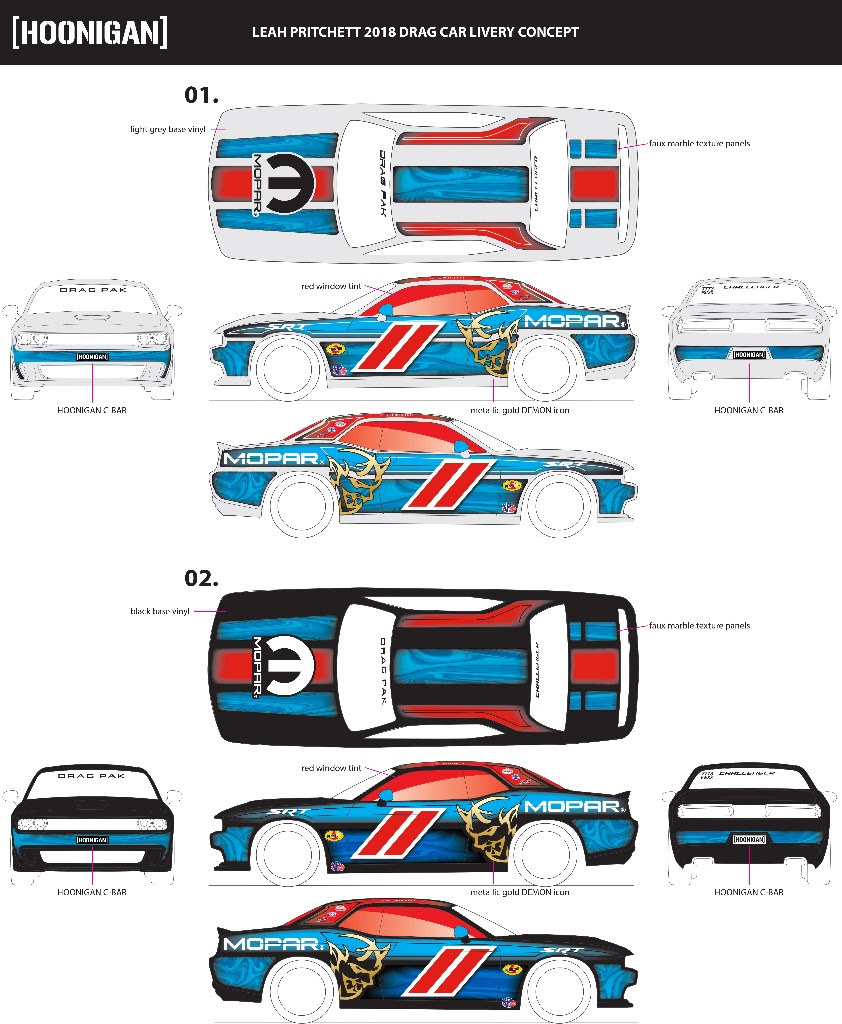 Fans have the ability to choose Pritchett's 2018 Factory Stock Showdown livery via a fan vote at  www.hoonigan.com/LP