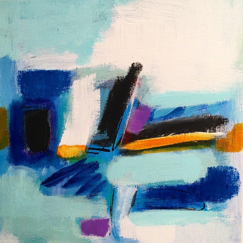 Blue Landscape one