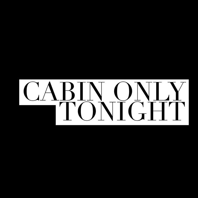 We are up and running! Cabin only with a limited menu. Let's have a drink! . Back to regular hours tomorrow!