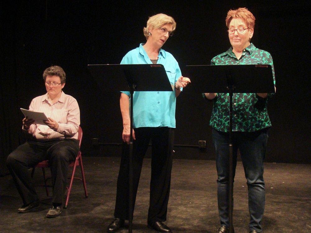 Maureen Bogues, Karen Hirst, Margery Kreitman