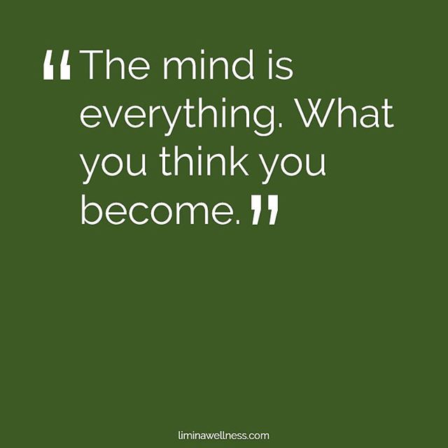 The mind is everything. #QOTD #yoururbanescape