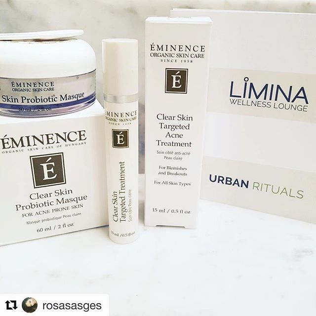 You're welcome! Enjoy the rest of your weekend.  #Repost @rosasasges with @repostapp ・・・ A little face treat for me this weekend. My self care is starting with my face. Thanks to @liminawellness for my face treats.  #eminence #eminenceorganics #acnecare #organic #organicskincare #saturday #newwest #newwestminster #newwestminstershopping #limina #liminawellness