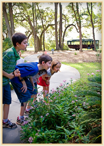 kids on the front walkway with border.jpg