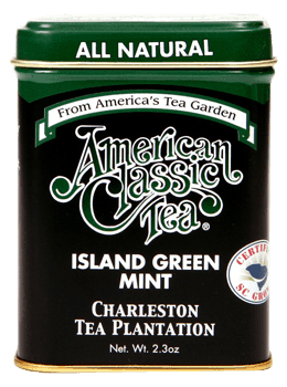 Island Green tea with Mint