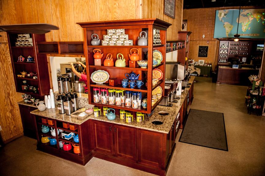 Tea Sampling Station